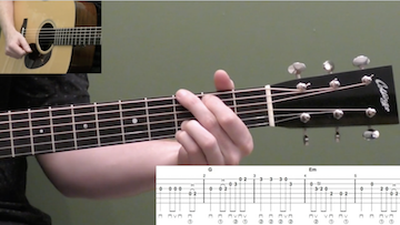 Temperance Reel Beginner Guitar