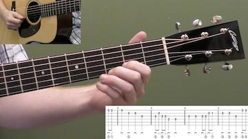 The Girl I Left Behind Beginner Guitar