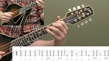 Two Finger Mandolin Chords Beginner Mandolin