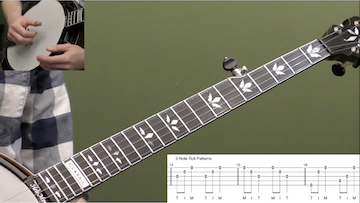 Understanding The Rhythm Of Rolls Beginner Banjo