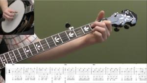 Wayfaring Stranger (Backup) Beginner Banjo Lesson