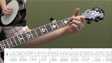 Wayfaring Stranger (Backup) Beginner Banjo