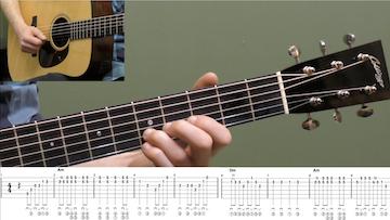 Wayfaring Stranger Intermediate Guitar