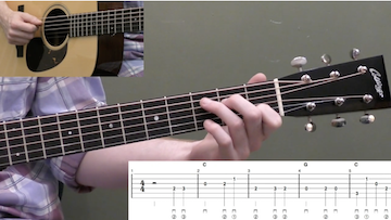 Wildwood Flower Beginner Guitar