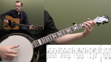 Will The Circle Be Unbroken (Backup) Beginner Banjo